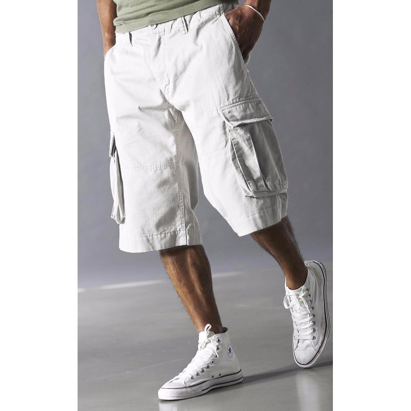 Korte Broek Legerprint Heren.Witte Bermuda Shorts Voor Heren Slechts 24 99 Bij Hoeden Voordeel Nl